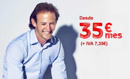 Desde 45€ mes +IVA 9,45€