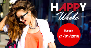 Happy Weeks. Hasta 21/01/2018